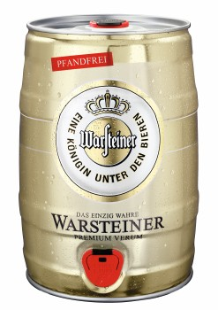 warsteiner pils 5l fassbier getr nke durstloescher. Black Bedroom Furniture Sets. Home Design Ideas